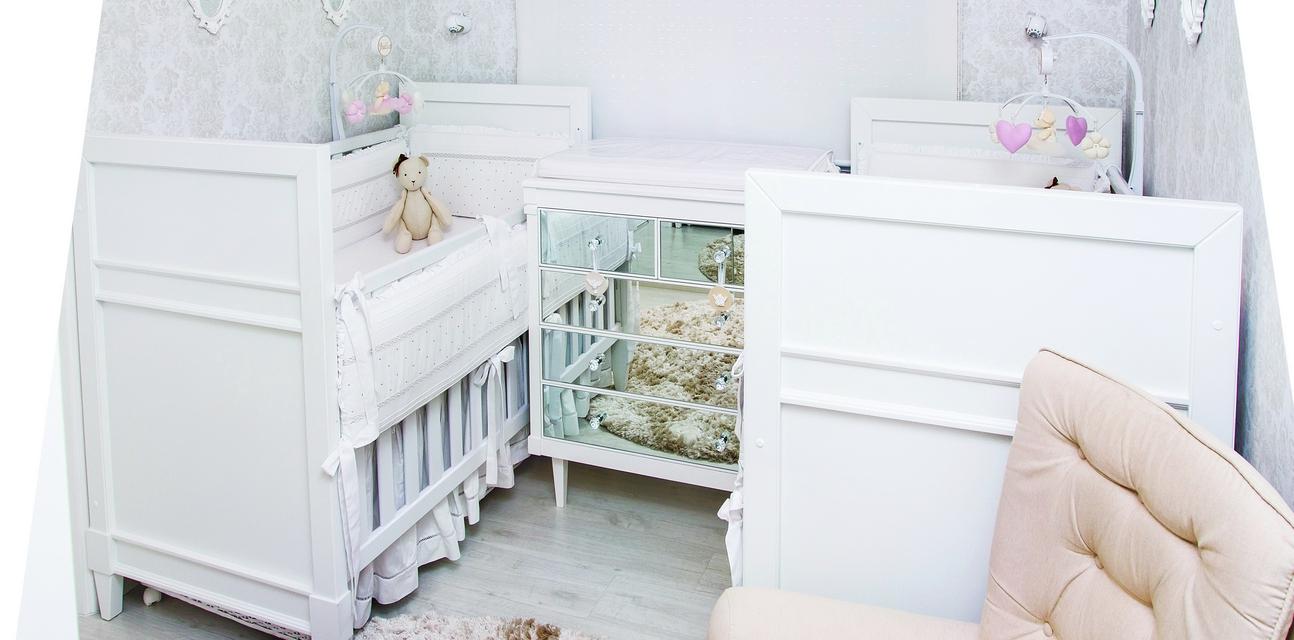 Quarto Compacto E Charmoso Casa Ambiente Beb  ~ Cortinas De Renda Para Quarto E Quarto Sob Medida Pequeno