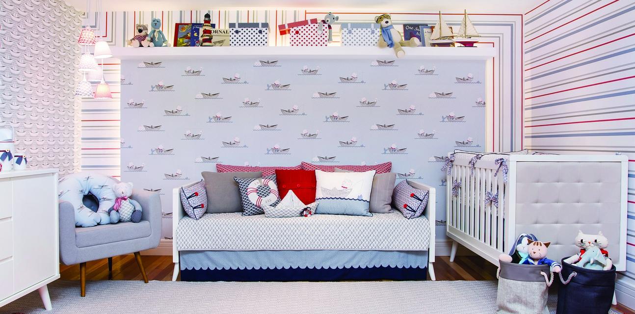 Decora O Tema Marinheiro Em Tons De Azul Casa Ambiente Beb