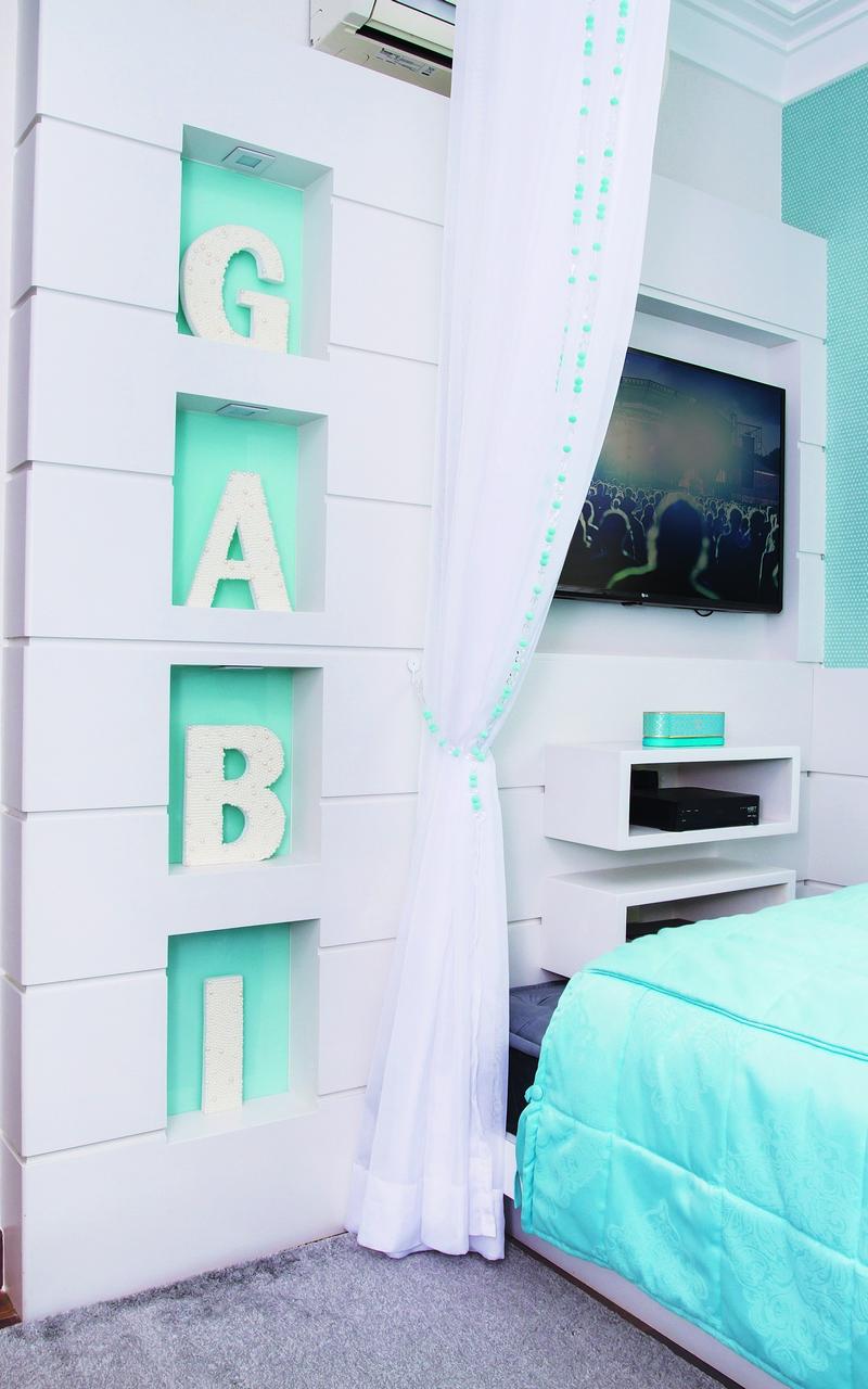 Casa E Ambiente Bebe Quarto Azul Tiffany 2 Casa Ambiente Beb  ~ Papel De Parede Azul Tiffany Quarto